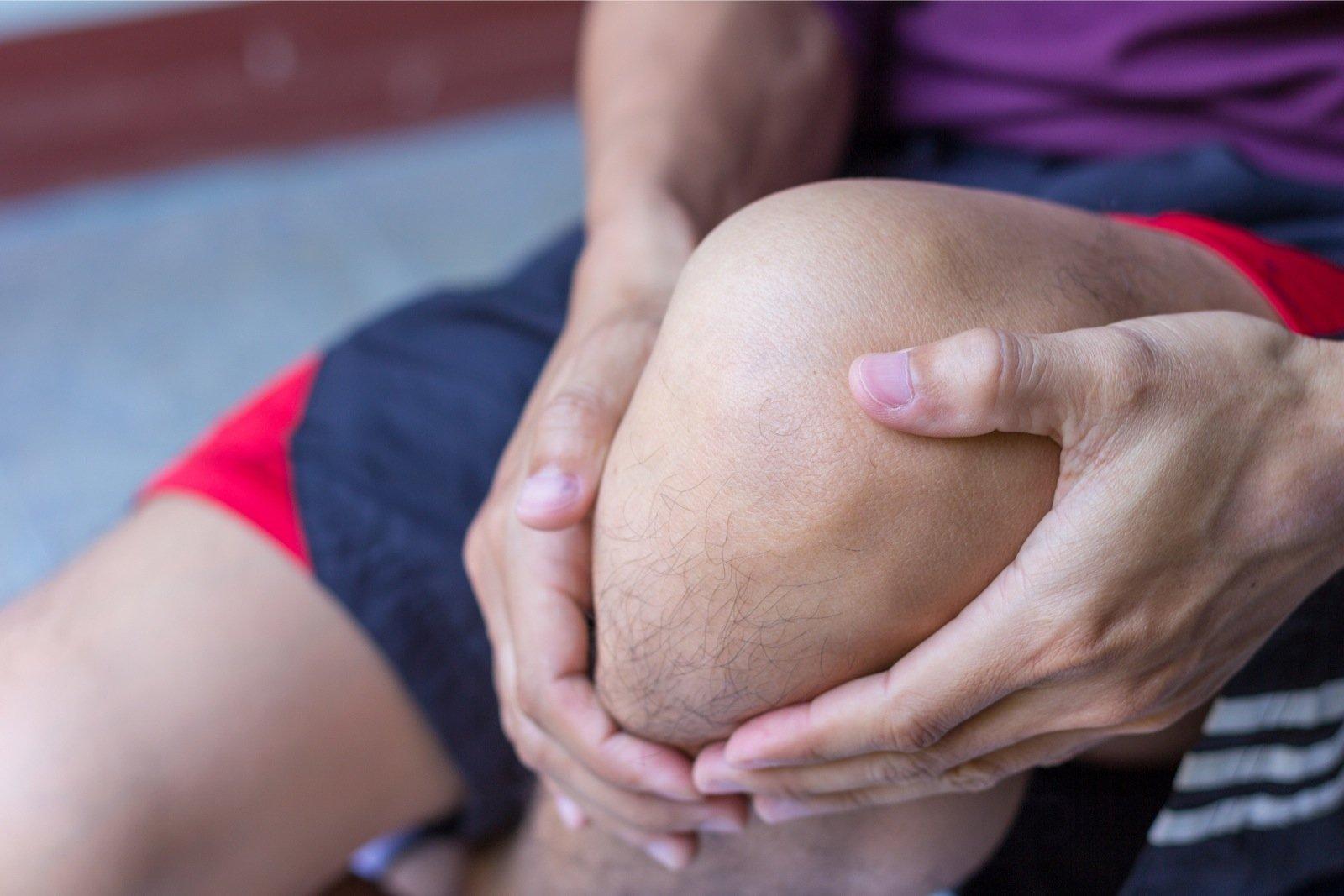 Healing geelid liigesevalu Polved haiget ligamente