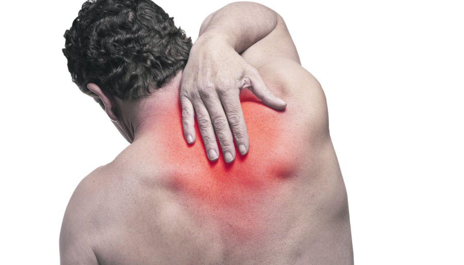 Kinesiotapes liigeste valu valu Tsustiline uhine ravi