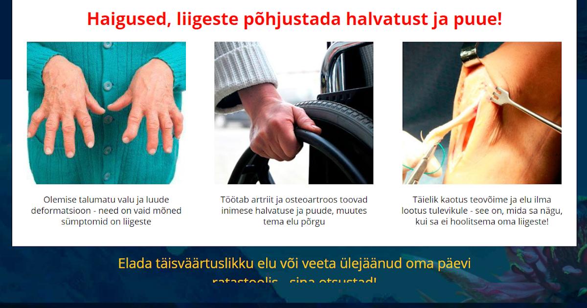 Liigestega seotud haigused Kasi sorme liite poletik parast vigastuse ravi