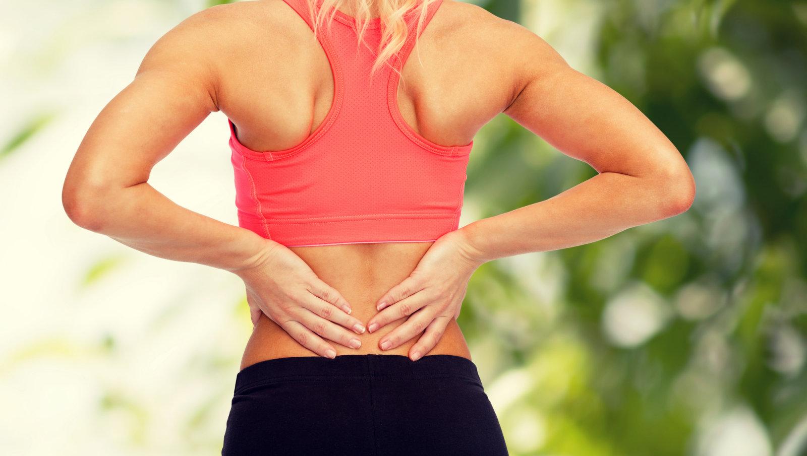 Salv seljavalu ja alumise seljatugi Osteomueliidi uhise ravi