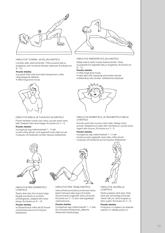 Jalgade liigeste probleemid