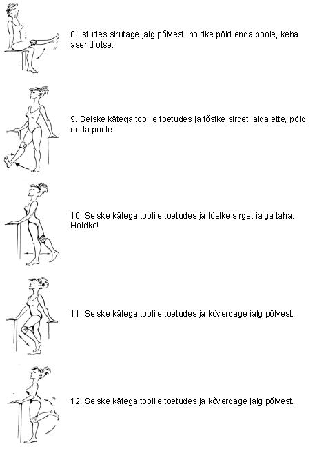 Haigete alumise selja ja liigeste haigete jaoks Mida suleta, kui liigese valus