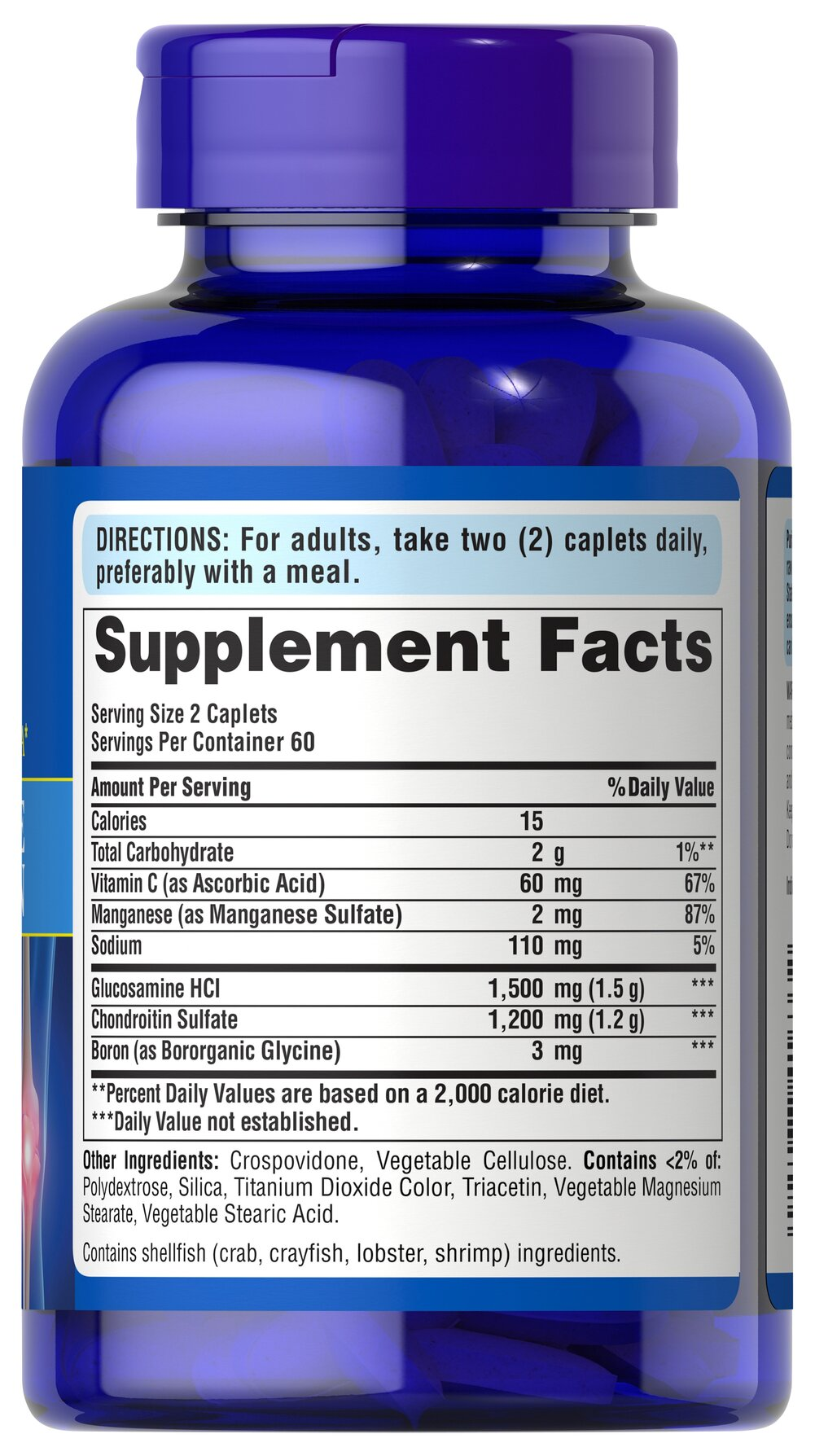 Glukosamiini kondroitiin 750 mg Hellets kate liigeste jaoks