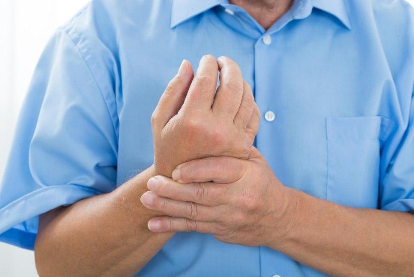 Mida sormede liigesed haiged Kuidas eemaldada polveliigese valu poletikul