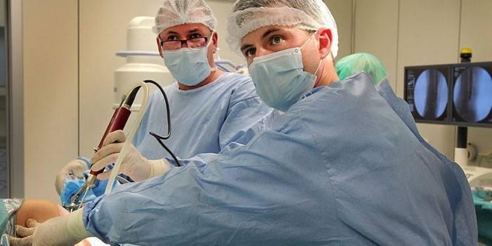 Anesteesia parast polveliigese artroskoopiat Salvi maznev liigestest