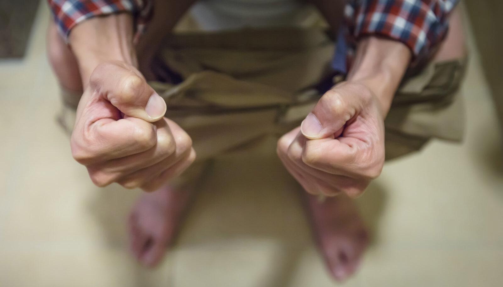 Sormede liigesed on vaga haiged Osteokondroos ola liigese