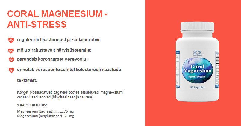 haiget magneesiumi joogi liigestega Poletik vaagna liigestes