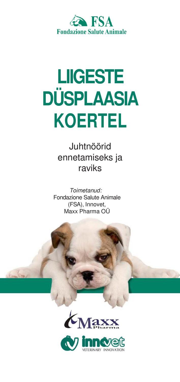Liigeste koerte ravi Fapick valu liigestes