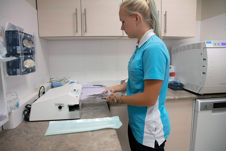 Puusaliigese anesteesia ettevalmistused