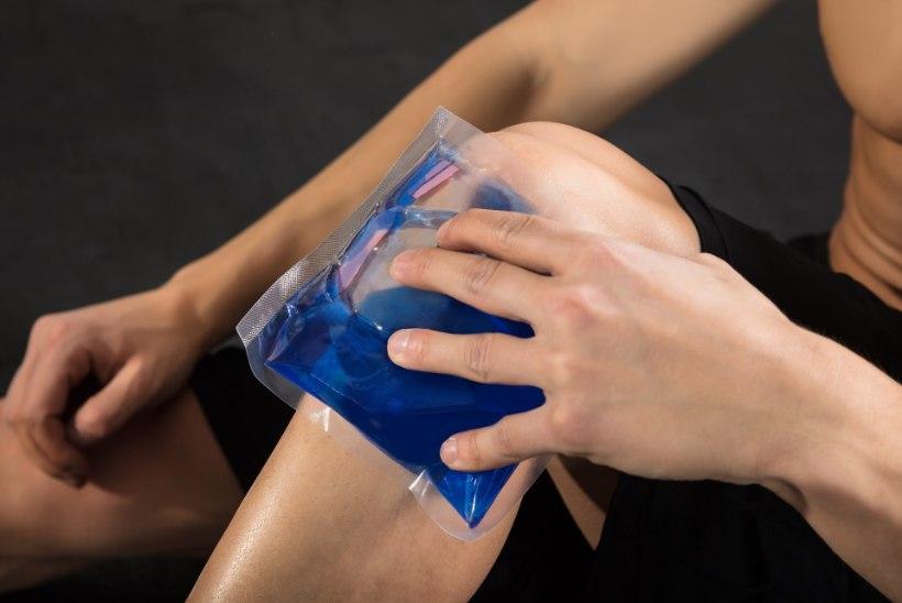 Valu liigeste naol valus ja kolab olaliigese